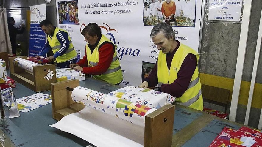 La asociación benéfica Vida Digna inicia su campaña de recogida de juguetes