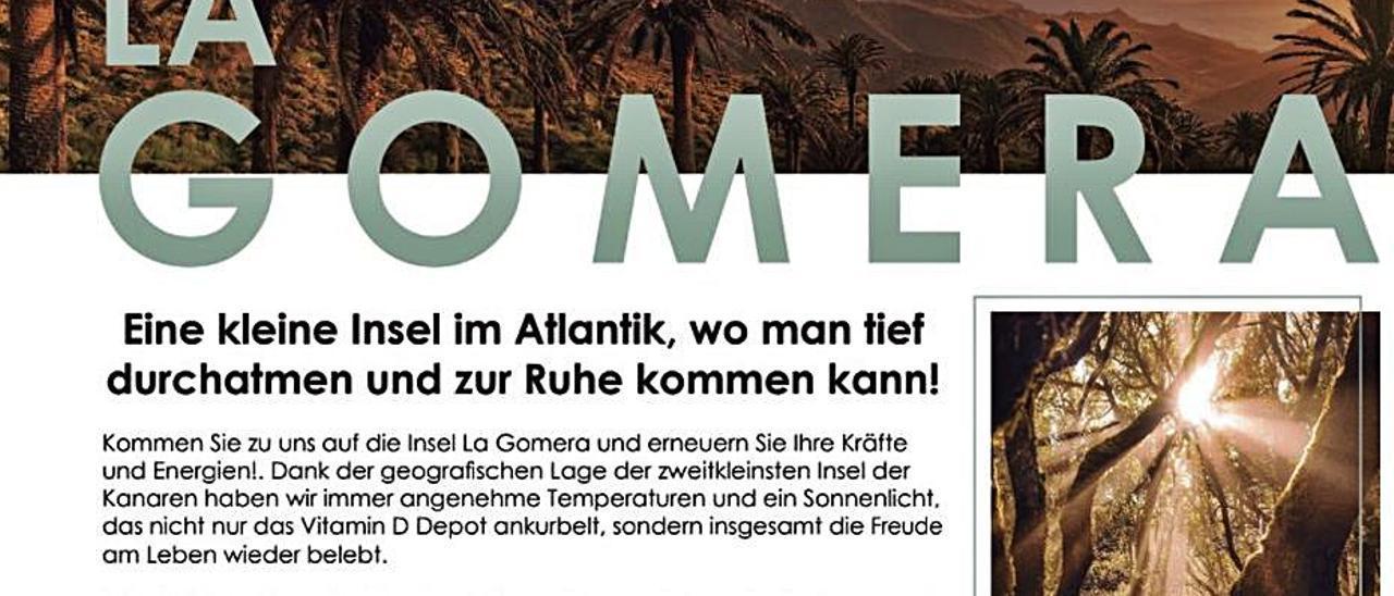 La isla llega a más de 18 millones de alemanes con una promoción