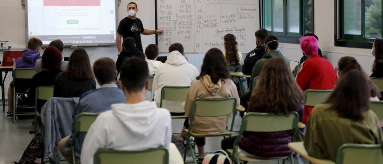 Una clase en un instituto.     // JOSÉ LORES