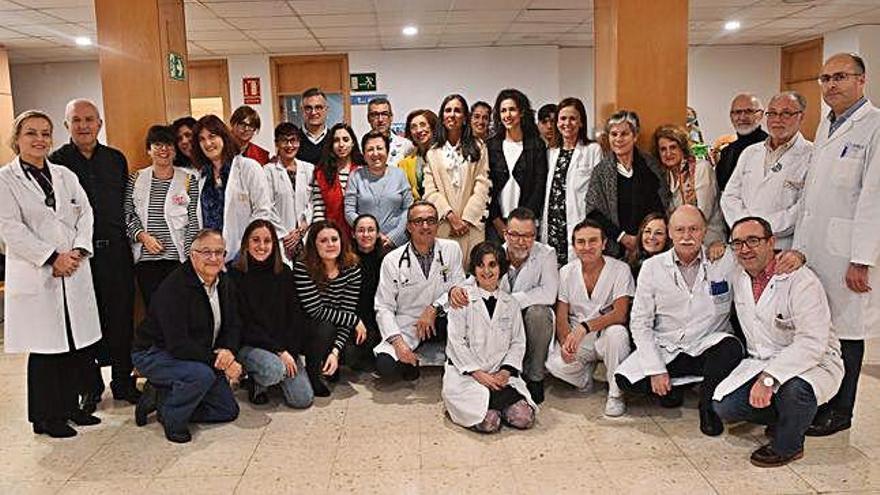 Jornada de solidaridad en el área sanitaria