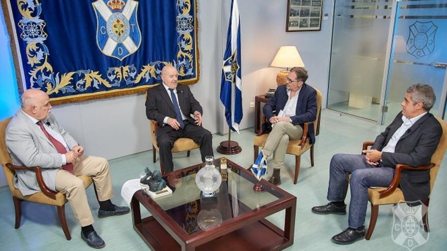 Concepción, ante la más que probable relección como presidente del CD Tenerife