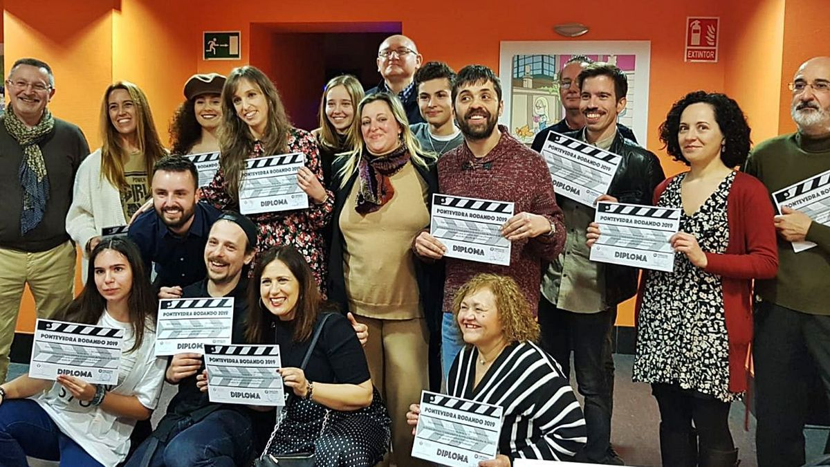 Participantes en uno de los talleres.   | // FDV