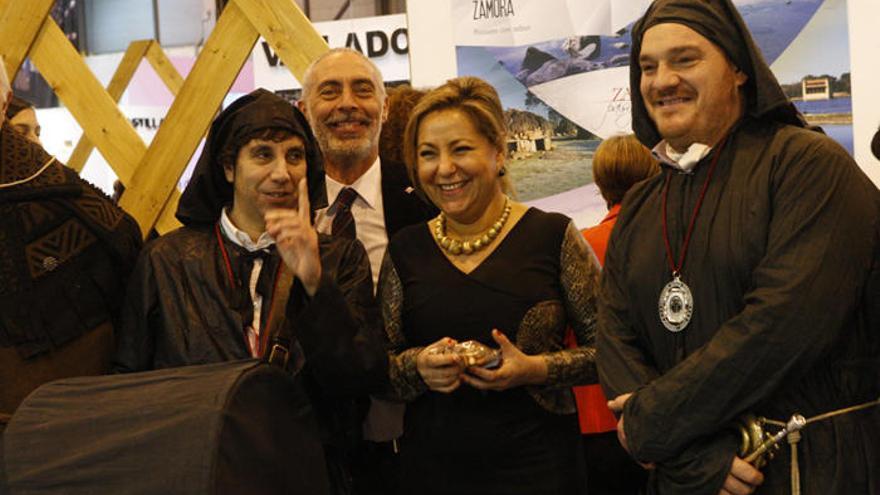 Zamora presenta la Semana Santa en Fitur con la Unesco en el horizonte