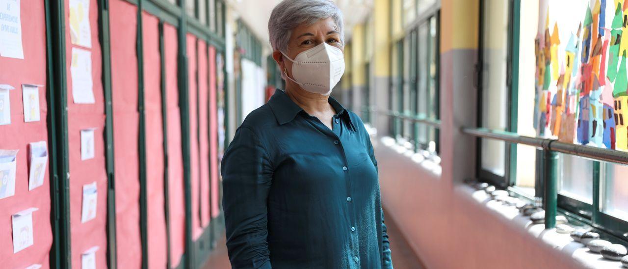 Teresa Álvarez, directora del Colegio Marcos del Torniello.