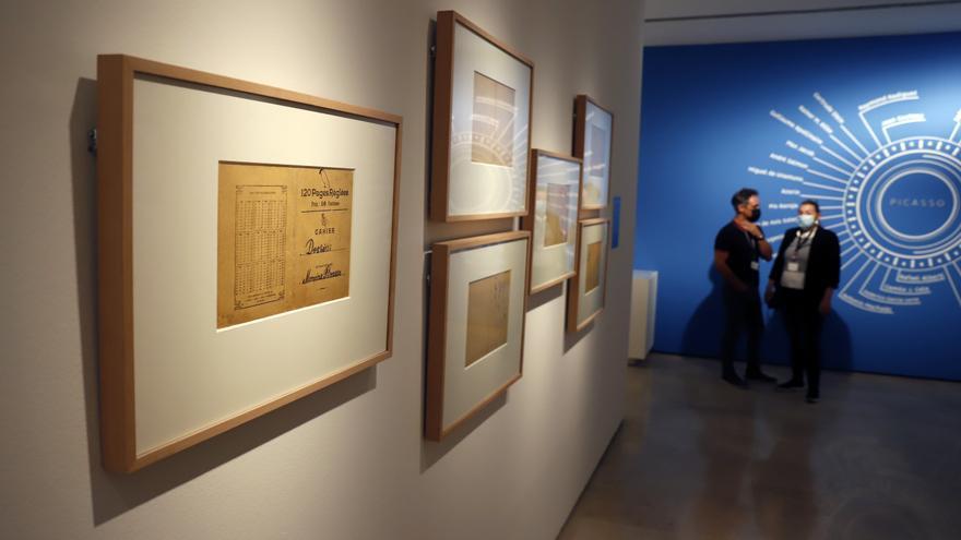 Una exposición con más de un centenar de obras revela la relación de Picasso con la literatura