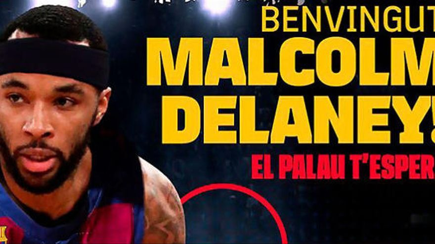 L'expert Malcom Delaney, nou base per al Barça