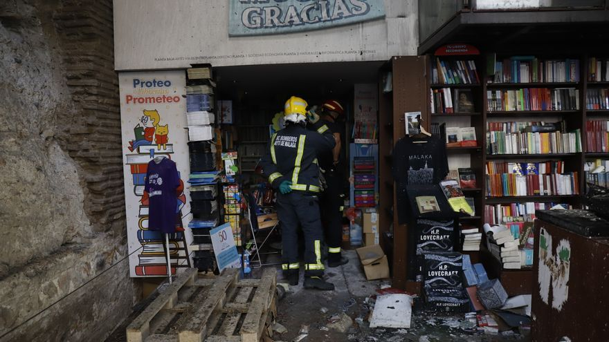 El Ayuntamiento cederá un local a la Librería Proteo durante su reconstrucción
