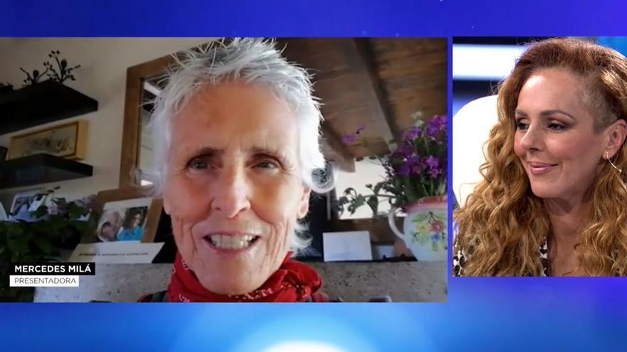 Mercedes Milá y la ministra Irene Montero, entre las mujeres que mostraron su apoyo a Rocío en Telecinco