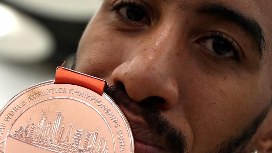 """Orlando Ortega: """"Ha sido la medalla más difícil de mi vida. Me sabe a oro"""""""