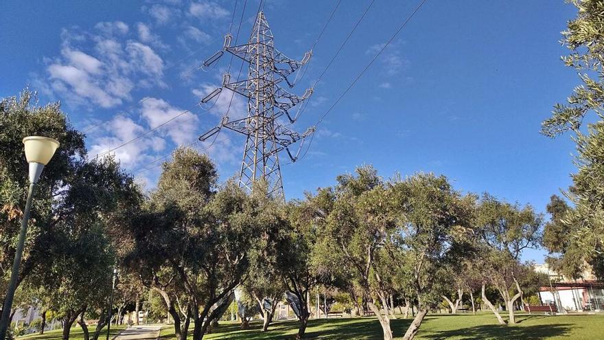 Las torres de alta tensión se van para Villadiego