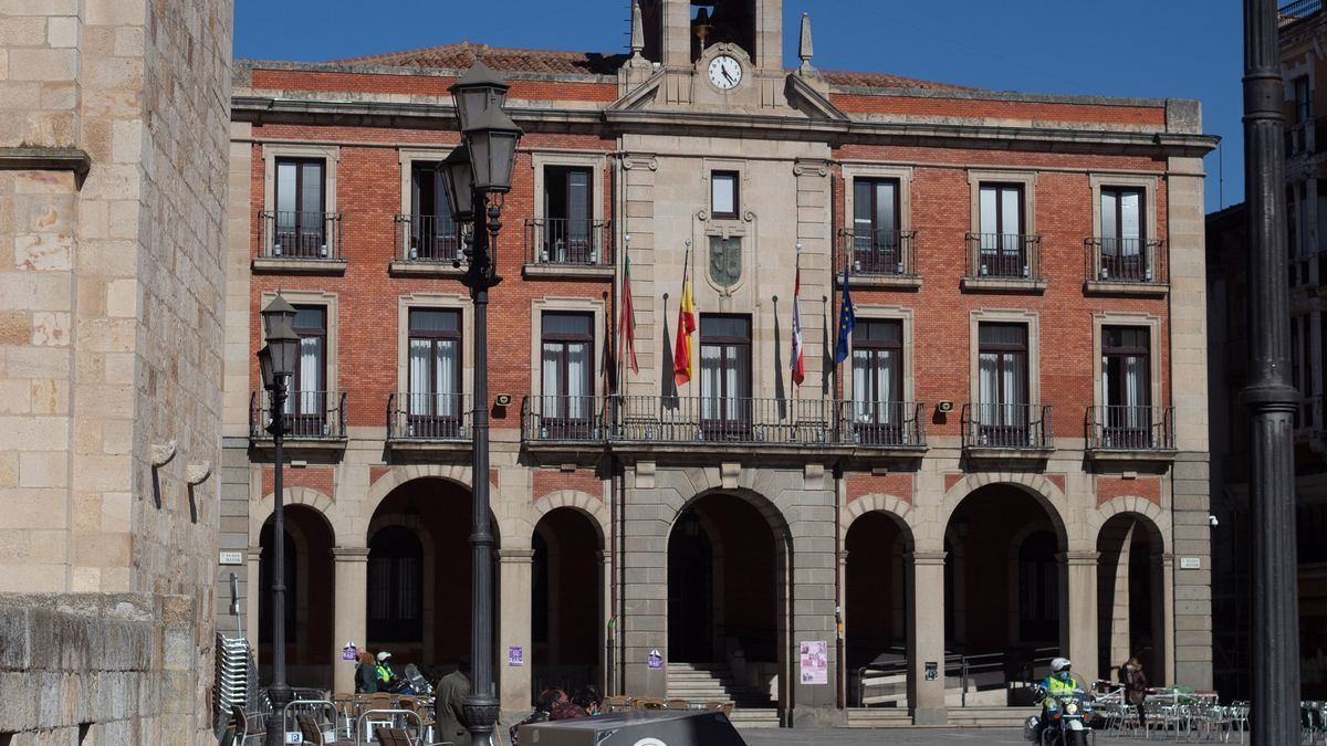 Fachada del Ayuntamiento de Zamora.