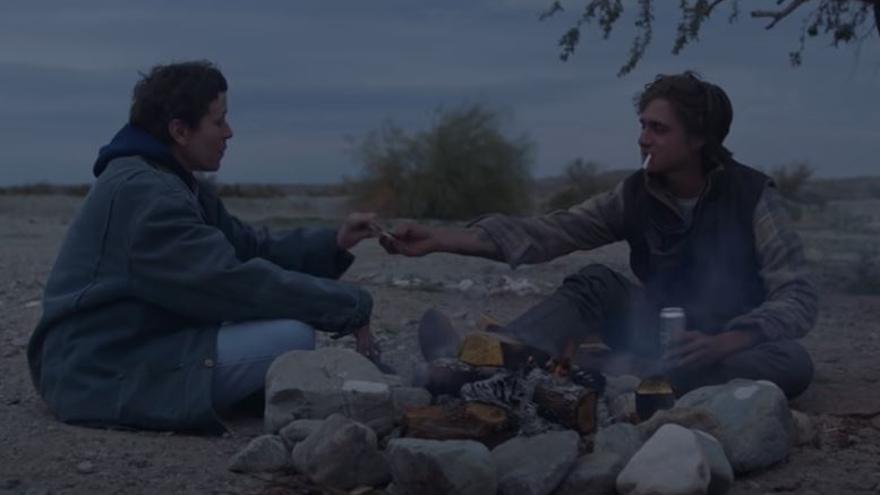 'Nomadland' arrasa en los Premios Bafta
