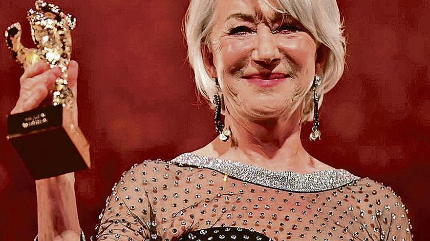 """El """"antiBrexit"""" de Helen Mirren pone en pie al público de la Berlinale"""