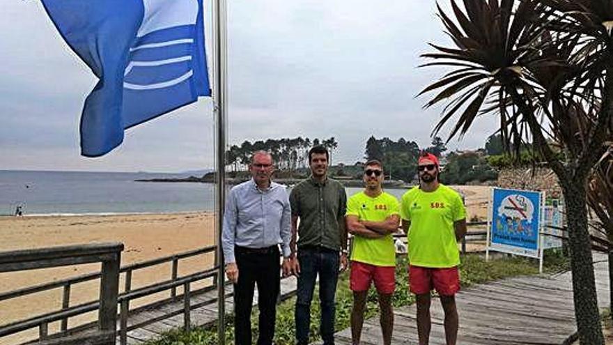 El Concello de Miño aspira a recuperar las banderas azules de A Ribeira y Grande
