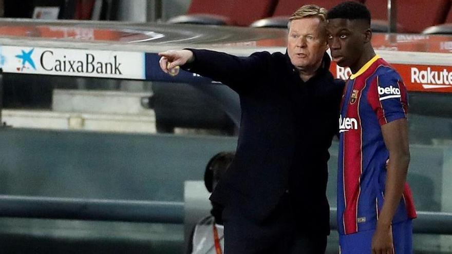 """Koeman dice que ha sido su noche """"más feliz como entrenador"""" del Barcelona"""