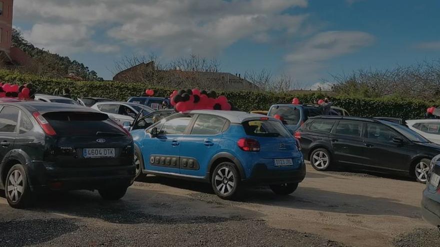 Los hosteleros de A Guarda protagonizan una caravana masiva para pedir un rescate