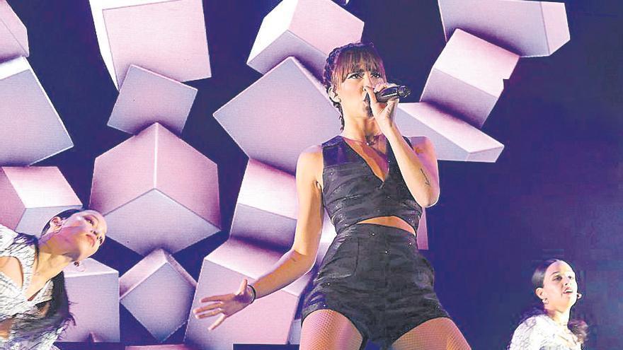 Cancelado el concierto de Aitana de este miércoles en Córdoba por una laringitis