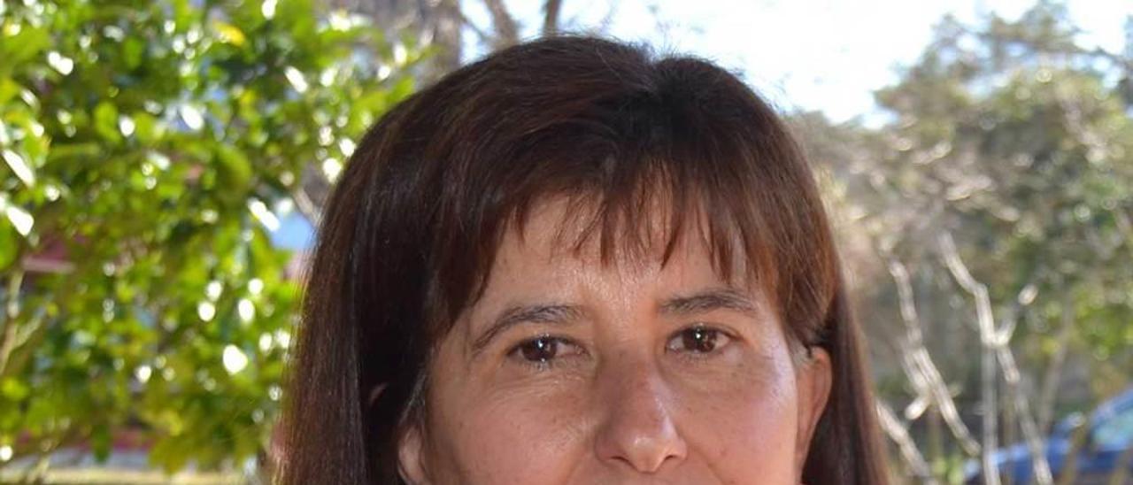 Pilar Toro, en Llames de Pría.