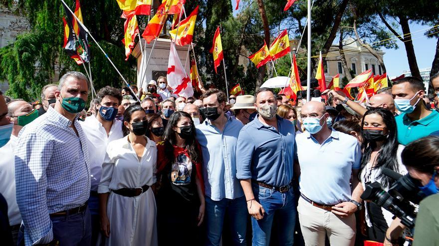 Vox inicia un 'otoño caliente' con marchas en la calle y una gran convención