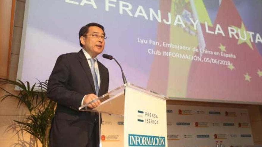 L'ambaixador de la Xina: «L'actual Ruta de la Seda dóna força al creixement econòmic mundial»