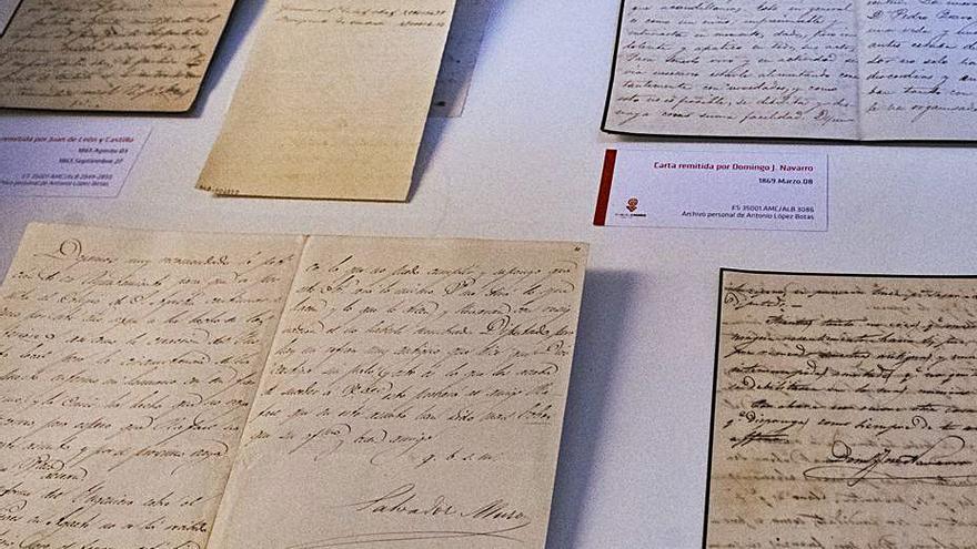 El archivo personal de Antonio López Botas ingresa en El Museo Canario