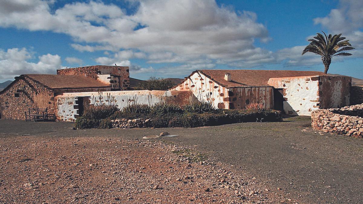 Imagen del poblado artesanal de La Alcogida, en el pueblo de Tefía, municipio de Puerto del Rosario.