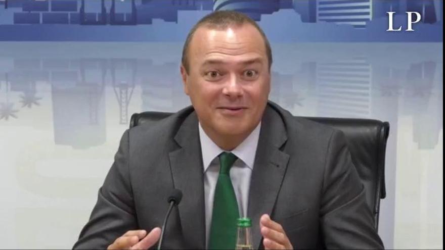 Hidalgo tiene total confianza en Quevedo y Doreste y garantiza un nuevo tripartito