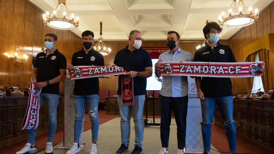 Baselga, Garay y Javi Navas, muy motivados en el Zamora CF