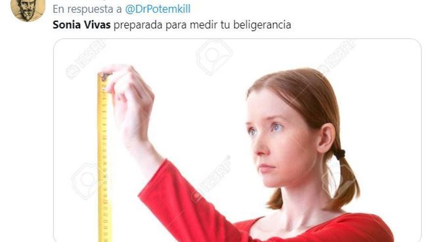 Los memes de Sonia Vivas y sus declaraciones sobre el tamaño de los penes