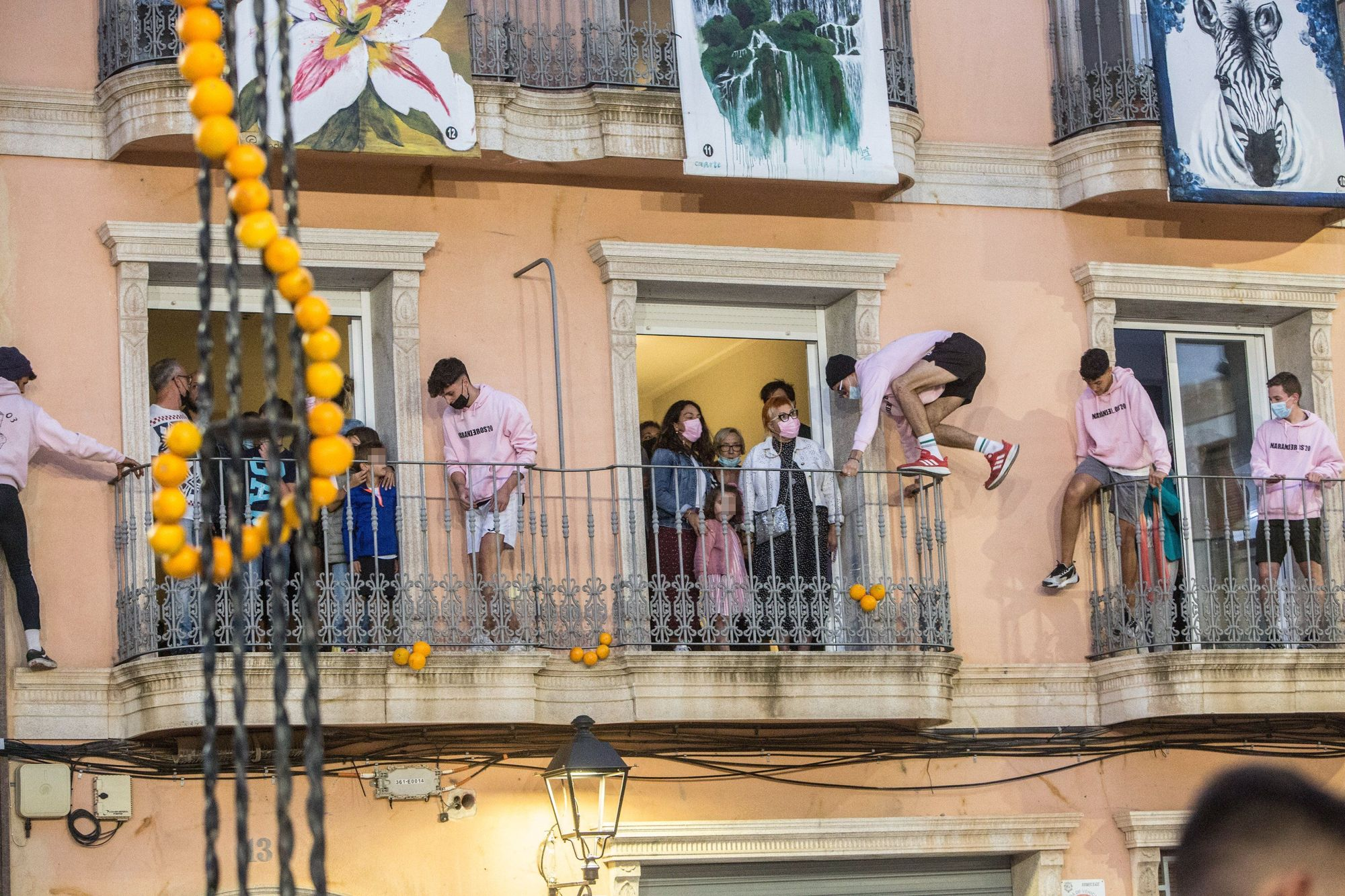 Los naranjeros retoman la tradición en Agost