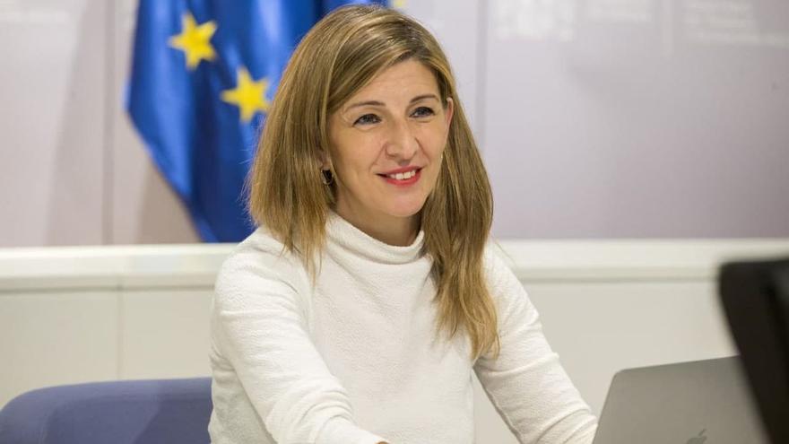 Yolanda Díaz, la ministra del diálogo social