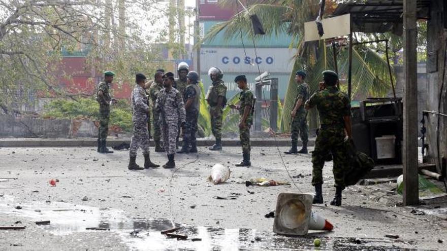 El Estado Islámico reivindica los atentados en Sri Lanka