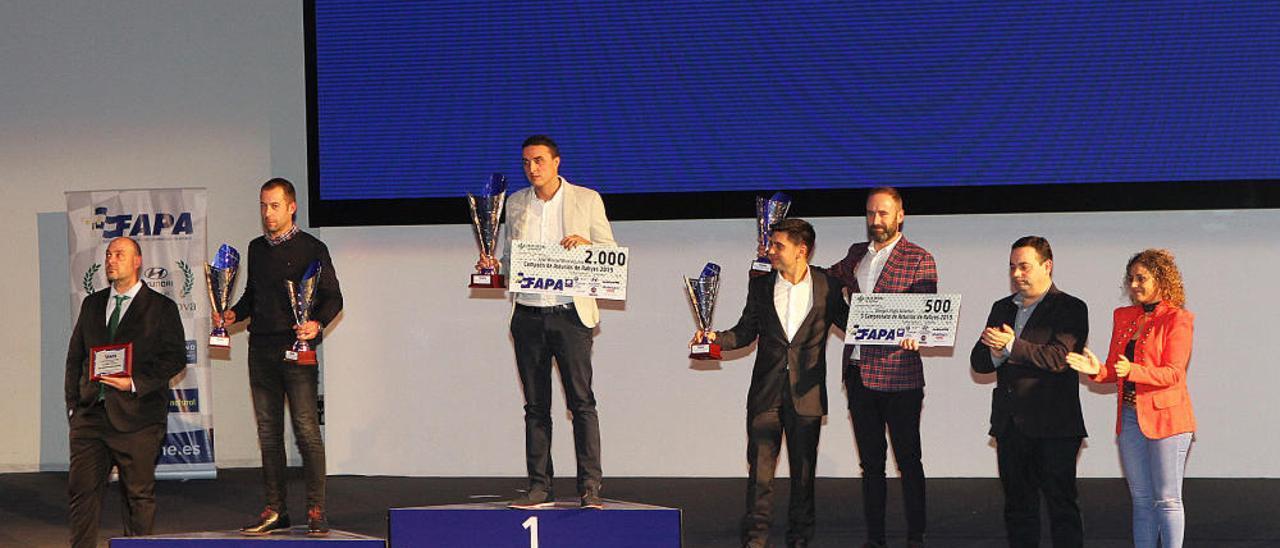 Los premiados en la Gala del Motor de 2019