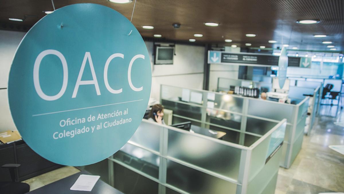 Oficina de Atención al Colegiado y al Ciudadano del ICAV.
