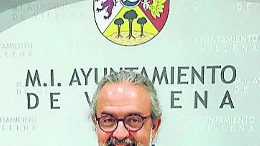 Pedro Rodríguez, pregonero de las Fiestas de Villena