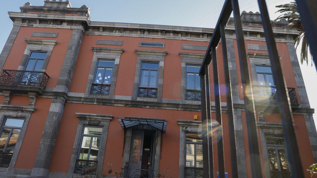 Sede de los servicios sociales de Avilés.