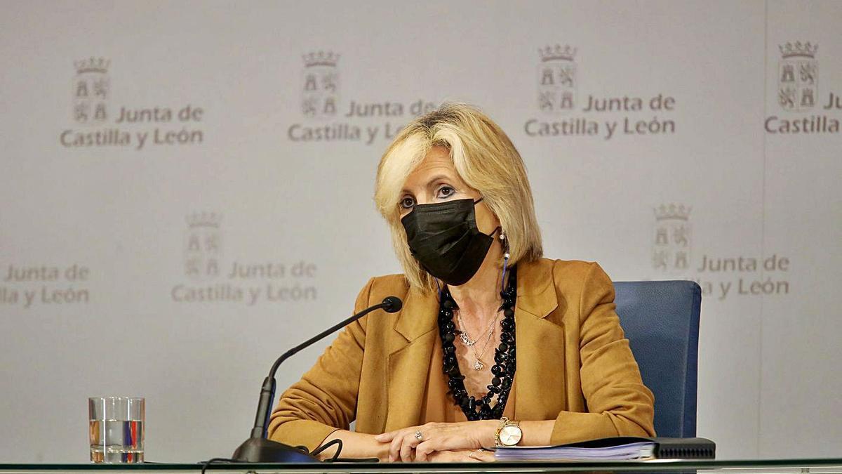 La consejera de Sanidad, Verónica Casado, comparece en rueda de prensa posterior al Consejo de Gobierno. | Ical
