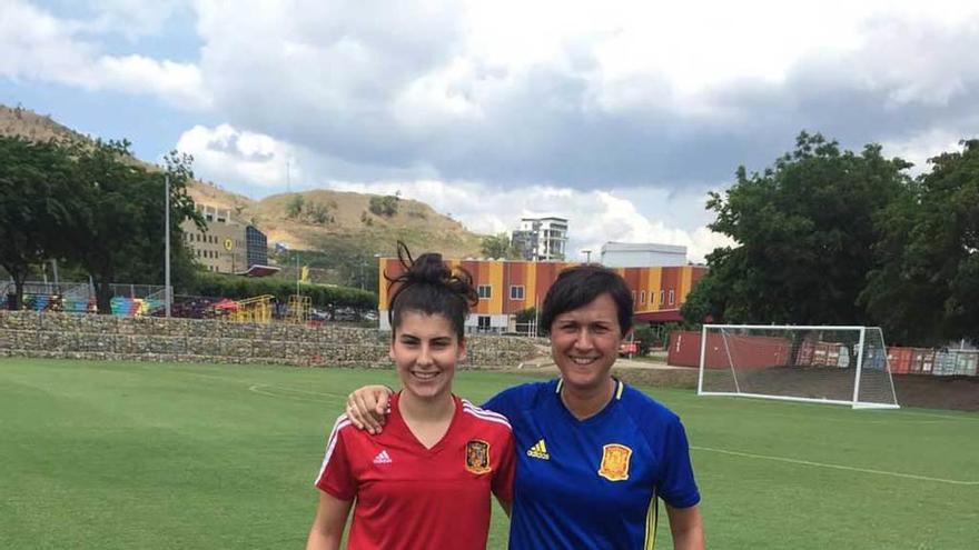 Lucía García, puntual a su cita con el gol