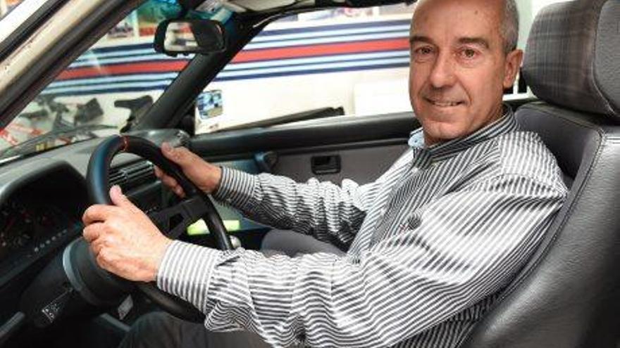 El manresà Ñaki Bosch tornarà a competir al Dakar, ara amb un nou tipus de bugui