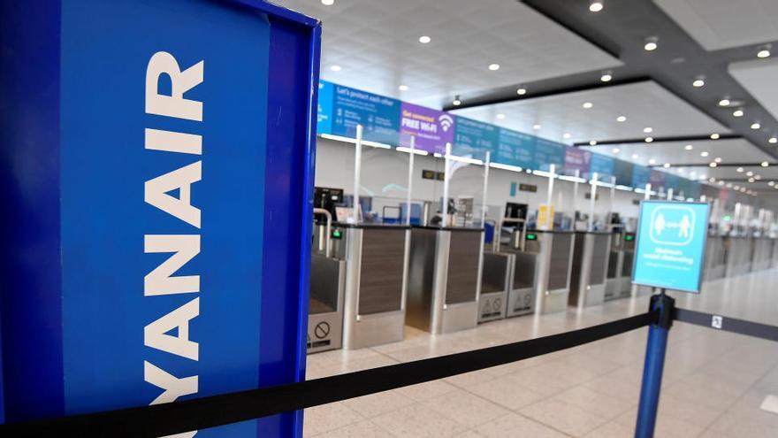 Ryanair perdió 197 millones desde abril hasta septiembre