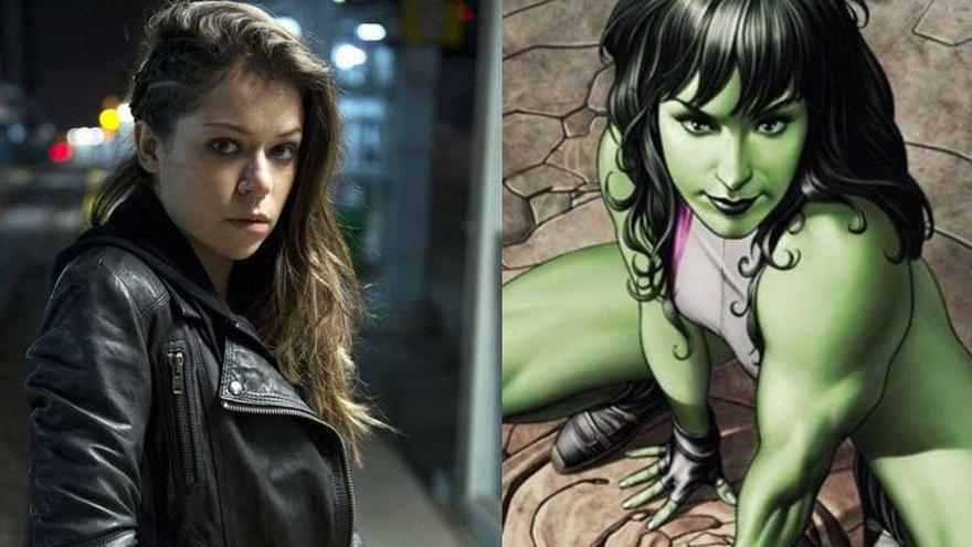 Tatiana Maslany se convertirá en 'She-Hulk' en la nueva serie de Marvel para Disney+