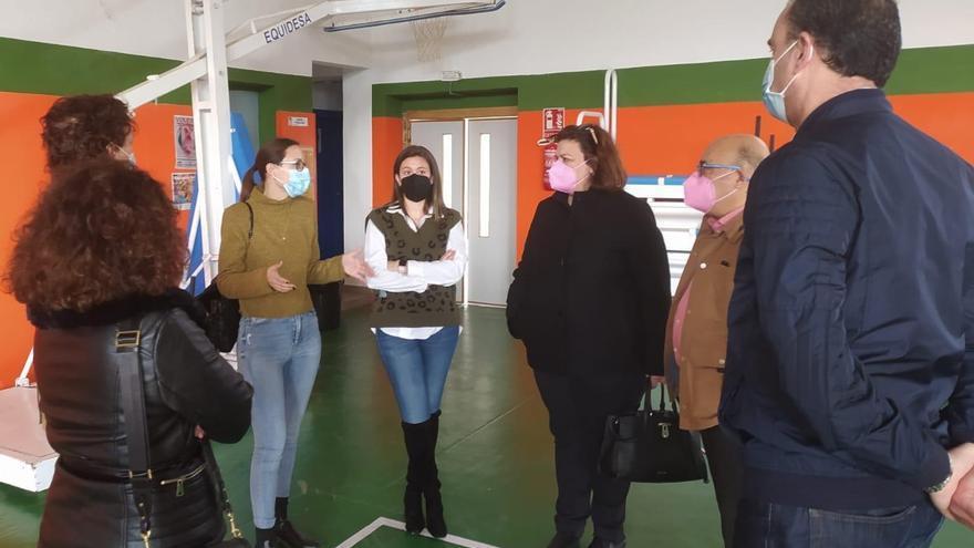 El Polideportivo Mariano Rojas acogerá la vacunación de policías y docentes de Cieza, Abarán y Blanca