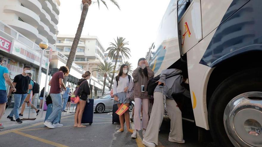 «En Mallorca, la gente no llevaba mascarilla»