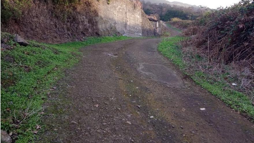 La mejora del camino agrícola La Fonseca facilita el acceso a 362 parcelas de Santa Úrsula