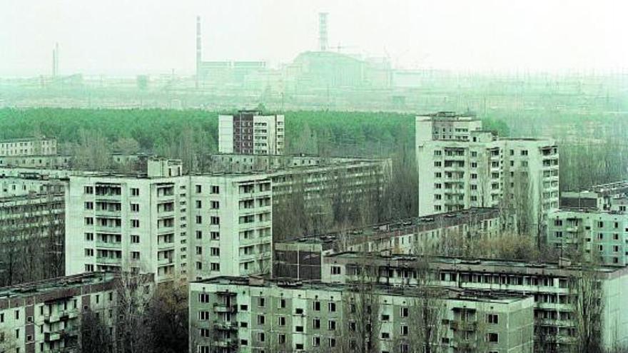 La catàstrofe nuclear de Txernòbil perviu 35 anys després de l'accident