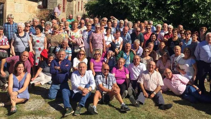 Excursión de mayores de A Laracha a Allariz y Celanova