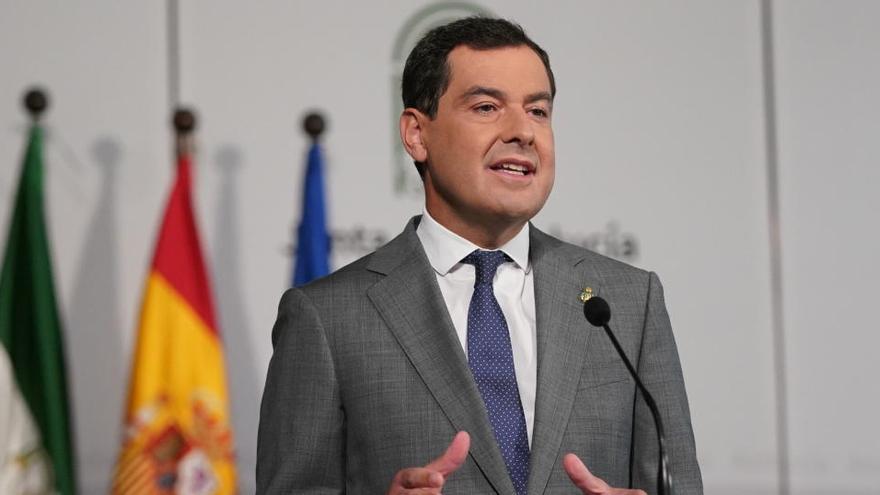 Moreno plantea el cierre de Andalucía antes del puente