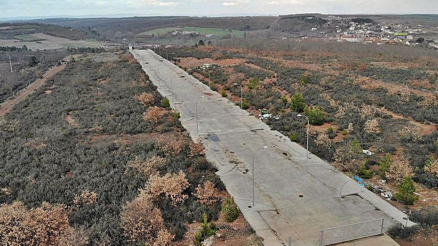 Alcañices acogerá un centro logístico  para las carreteras de la Diputación