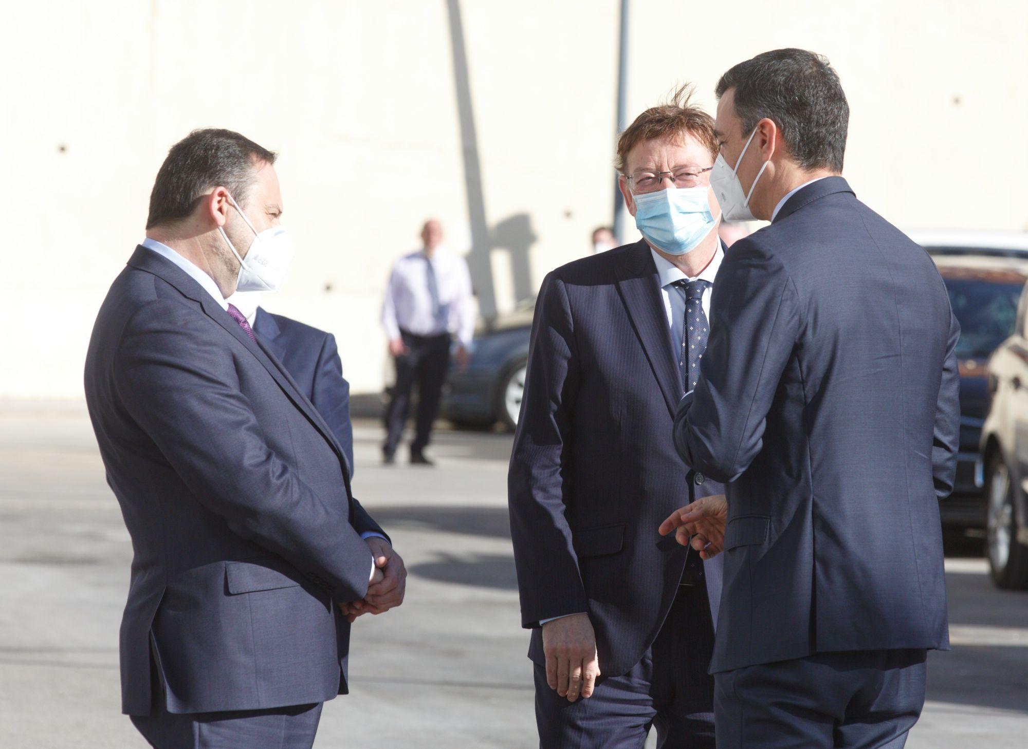 Pedro Sánchez llega a Alicante para inaugurar el AVE Madrid-Elche-Orihuela