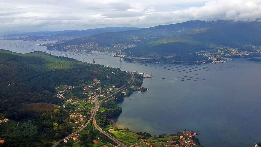 Una empresa promueve un proyecto para cultivar algas en la costa de Moaña y Vilaboa